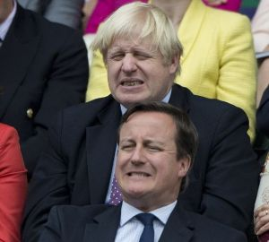 Boris & Cameron at Olympics Opening Ceremony