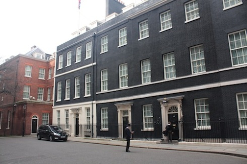 Downing Street Georgian