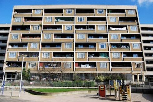 Priory Green Estate Brutalism